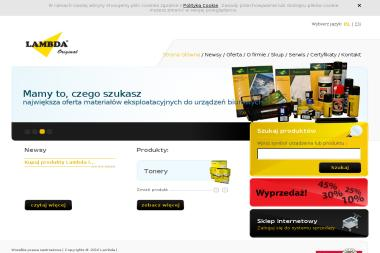 Lambda Sp. z o.o. - Kserokopiarki A4 nowe Wrocław