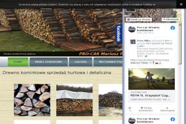 Drewno Kominkowe Mariusz Pakuła - Drewno kominkowe Lublin