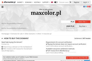 Maxcolor - Farbowanie Dzianin Łódź