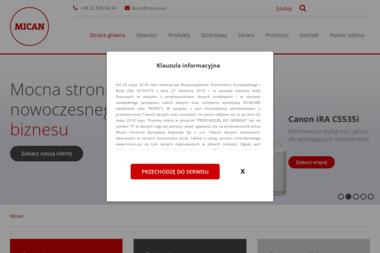 MICAN - Serwis sprzętu biurowego Łódź