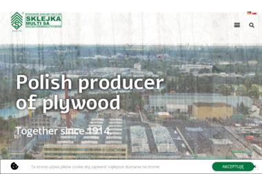 """""""Sklejka-Multi"""" S.A. - Drewnopochodne Bydgoszcz"""