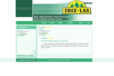 Trix-Las - Drewno kominkowe Częstochowa