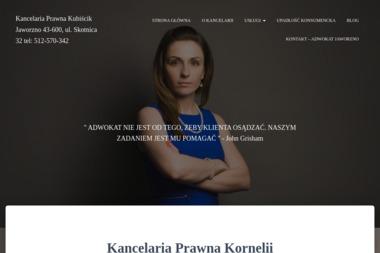Kancelaria Prawna Kornelia Kubiścik - Porady Prawne Jaworzno