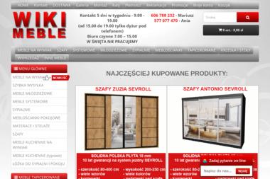 WIKI MEBLE Krzysztof Fras - Meble do salonu Wieruszów