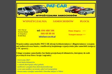 F.H.U PAT-CAR - Wypożyczalnia samochodów Płock