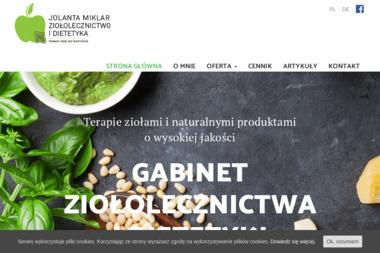Jolanta Miklar - Ziołolecznictwo i Dietetyka - Dietetyk Jastrzębie-Zdrój