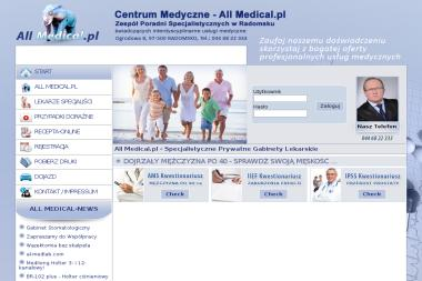 Centrum Medyczne - All Medical - Neurolog Radomsko