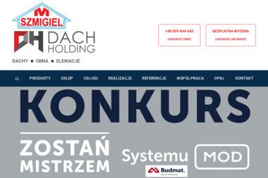 Dachy Okna Elewacje Szmigiel Mariusz - Dachówki Grabowo