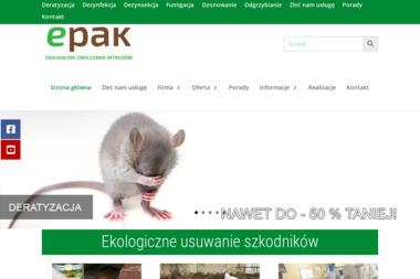 P.H.U. EPAK - Dezynsekcja i deratyzacja Kalisz