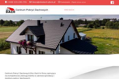 EkoDach - Blacha na Dach Maszewo Duże