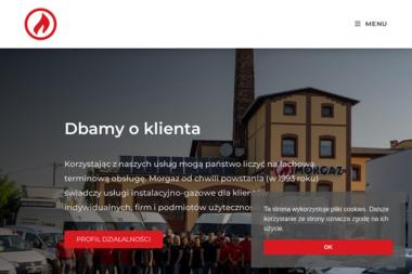 F.U.H. MORGAZ - Podłączenie Kuchenki Gazowej Opole