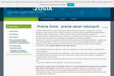 """Zakład Usług Pralniczych """"Pralnia Zosia"""" - Pomoc domowa Nowy Tomyśl"""