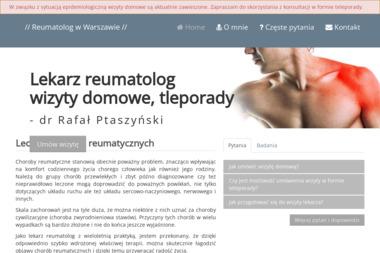 Reumatolog  Rafał Ptaszyński - Reumatolog Warszawa