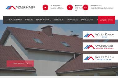 WaszDach - Blacha Trapezowa na Dach Słupno