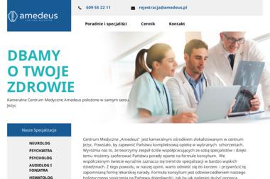 Amedeus Centrum Medyczne - Reumatolog Poznań