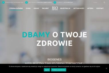 Biogenes Niepubliczny Zakład Opieki Zdrowotnej - Reumatolog Wrocław