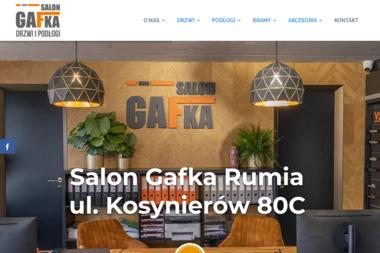 GAFKA - Drzwi Dwuskrzydłowe Gdynia
