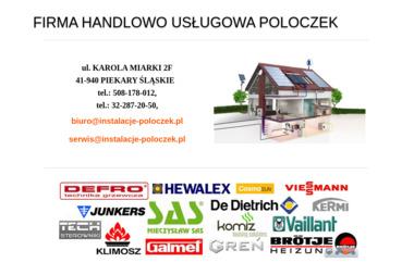 Firma Handlowo Usługowa POLOCZEK - Instalacje grzewcze Piekary Śląskie