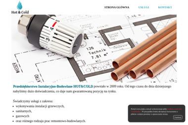 Przedsi臋biorstwo Instalacyjno-Budowlane HOT&COLD - Instalacje gazowe Ruda 艢l膮ska