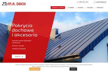 M.K. Dach - Pokrycia dachowe Żyrardów