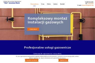 """Zakład Remontowo Budowlany """"Ola"""" - Gazownicy Łódź"""