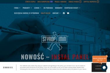 Styropmin - Skład budowlany Mińsk Mazowiecki