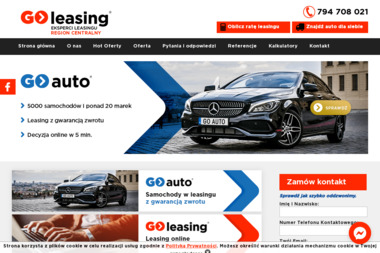 GO-LEASING O/Łódź K_Orłowska - Samochody osobowe używane Łódź
