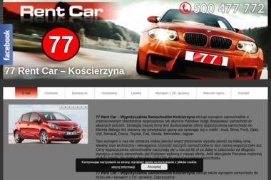 77 Rent Car - Wypożyczalnia samochodów Kościerzyna