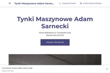 Tynki Maszynowe Adam Sarnecki - Tynki Maszynowe Tarnowskie Góry