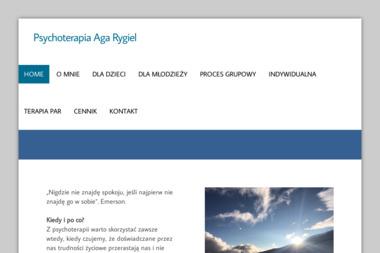 Agnieszka Rygiel - psychoterapeutka - Psycholog Jelenia Góra