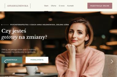 Pomoc psychologiczna Anna Holeniewska - Psycholog Zielona Góra