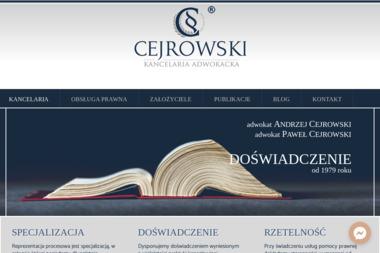 Paweł Cejrowski - KANCELARIA ADWOKACKA - Usługi Prawne Tychy