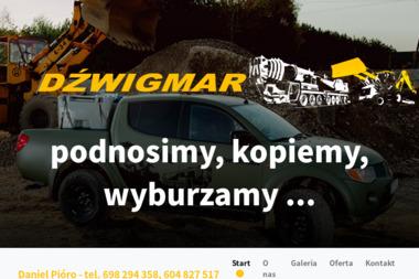 Firma Usługowo-Handlowa Dźwigmar - Roboty ziemne Tarnobrzeg