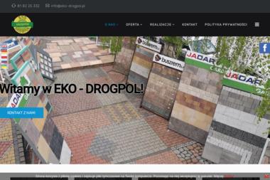 Eko-Drogpol - Płyty Chodnikowe Urzędów