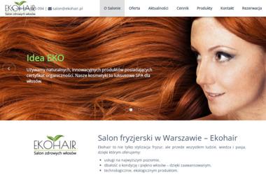Salon Fryzjerski Ekohair - Fryzjer Warszawa