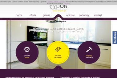 Studio kuchenne Expok - Szafy na wymiar Olsztyn