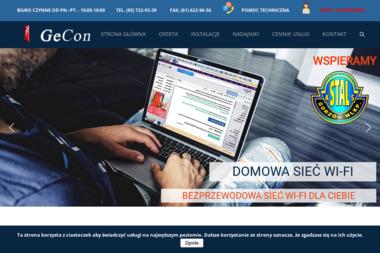 GECON - Internet Gorzów Wielkopolski