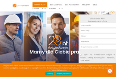 Grupa Progres - Outsourcing Kadr Gdańsk