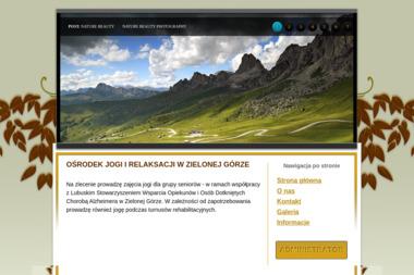 OŚRODEK JOGI I RELAKSACJI - Joga Zielona Góra