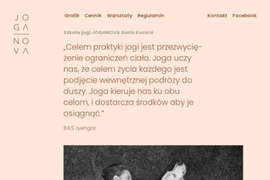 Szkoła Jogi JOGANOVA - Joga Zielona Góra