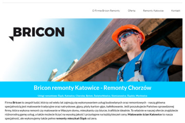 Bricon - Remonty na Śląsku - Firma remontowa Chorzów
