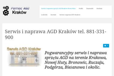Pomoc AGD - Naprawa zmywarek Kraków