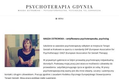 Gabinet Psychoterapii Magda Ostrowska - Psycholog Gdynia