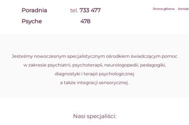 """Ośrodek Zdrowia Psychicznego i Rozwoju Osobistego """"Psyche"""" - Psycholog Wałbrzych"""