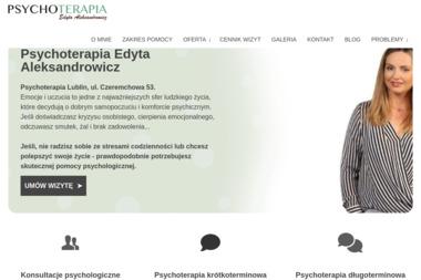 Gabinet Psychoterapii Edyta Alekandrowicz - Psycholog Lublin