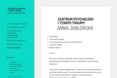 Centrum Psychologii i Terapii Traumy Anna Jabłońska - Psycholog Chełm