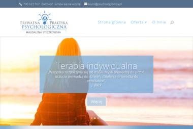 Prywatna Praktyka Psychologiczna Magdalena Steczkowska - Psycholog Łomża