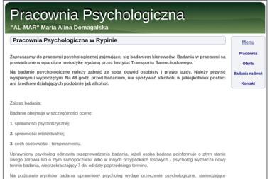 """AL-MAR"" Pracownia Psychologiczna - Psycholog Rypin"