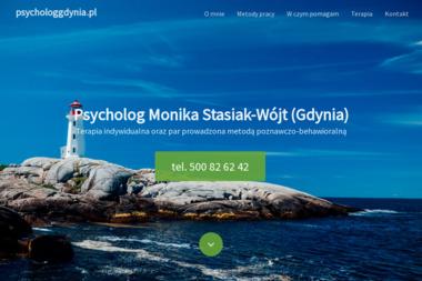 Psycholog Monika Stasiak-Wójt - Psycholog Gdynia