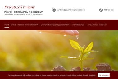 Przestrzeń zmiany - Psychoterapia Rzeszów - Psycholog Przemyśl